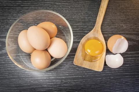 С чем нельзя сочетать яйца: …