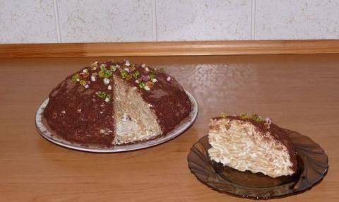 Гениальный тортик без выпечки