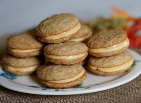 Медовое печенье с кремом