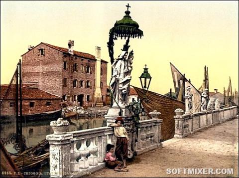 100 цветных открыток Венеции…