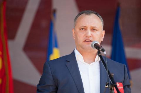 Президент Молдавии призвал к…