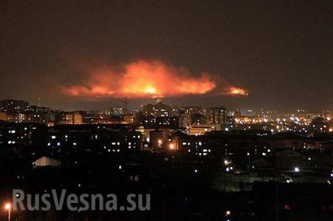 Декоммунизация военного склада на Украине, а не то что вы подумали....