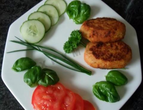Котлетки вегетарианские из чечевицы
