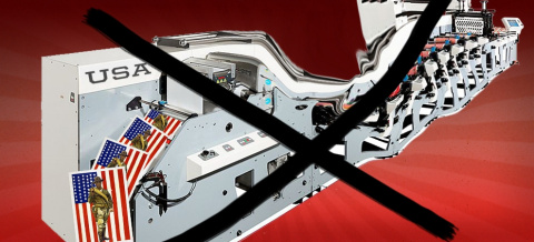 Пропагандистская машина США …