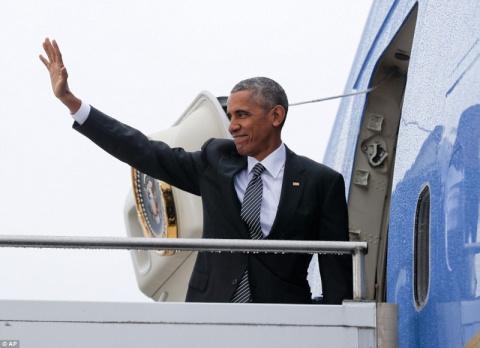 Обама говорит «гуд бай» свое…