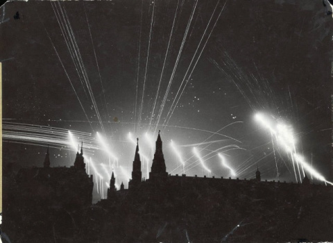 Бомбардировки Москвы начались в ночь на 22 июля 1941