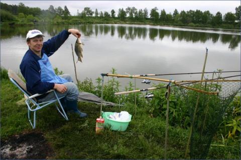 42. Рыбалка Москва-Подмосков…