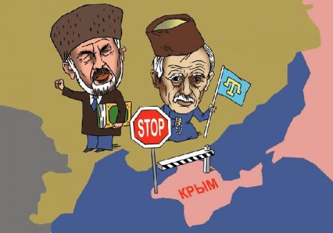 Вредные советы от Чубарова или легко ли быть экстремистом в Крыму