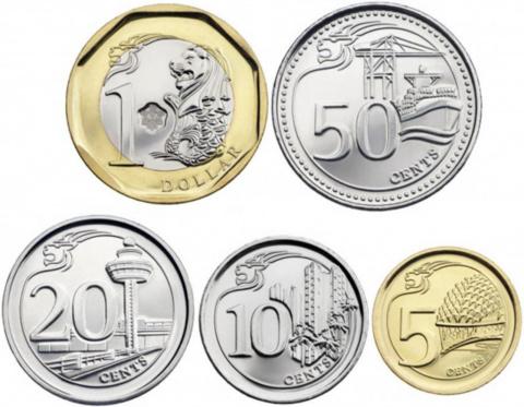 Новая серия монет Сингапура