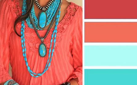 Как сочетать цвета в одежде……