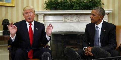 Трамп против наследия Обамы