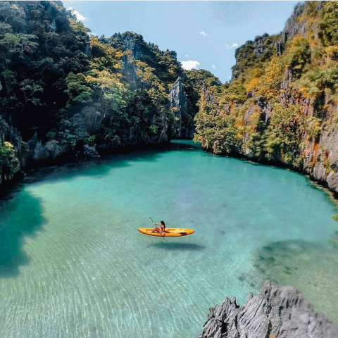 Потрясающая лагуна, Таиланд
