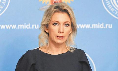 Захарова высмеяла заявление …
