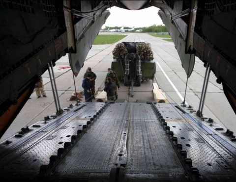 ВДВ России впервые осуществили десантирование нескольких БМД-4М на новой парашютной системе