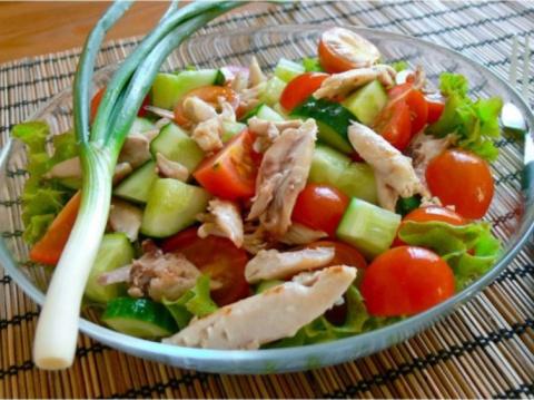 Диетические низкокалорийные салаты для похудения – рецепты.