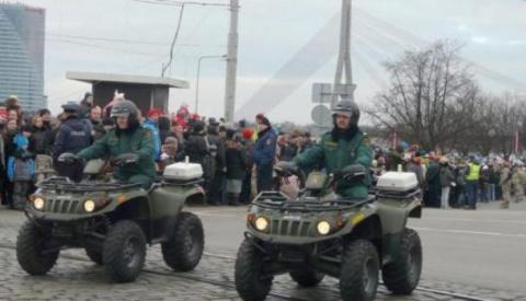 У нас есть квадроциклы и Америка!: «Латвия еще никогда не была такой сильной в военном плане», заявил президент страны
