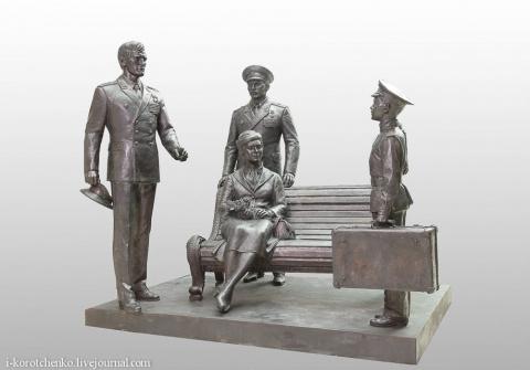 Новая скульптурная композиция из моего любимого фильма...!!!