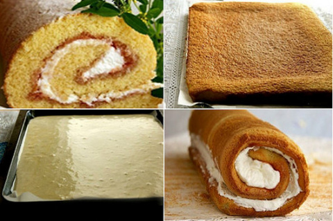 Рецепт удачного бисквитного …