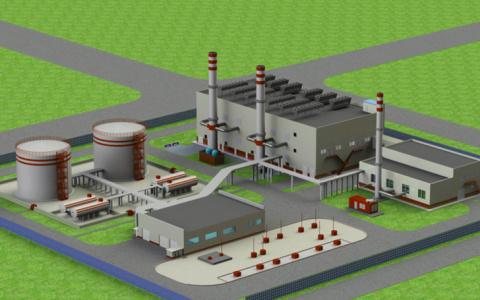 АО «КРЫМТЭЦ» ведет строительство ПГУ-120 МВт в Саках