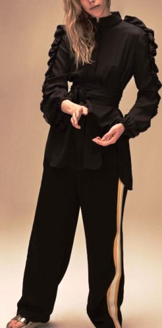 Игры с объемом — как носить широкие вещи