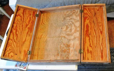 Шкафчик для бижутерии. А было - дрова!!