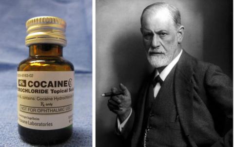 """Зигмунд Фрейд """"рекомендует"""": кокаин - лекарство от тысячи болезней"""