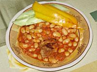 Тушеная фасоль в томатном со…
