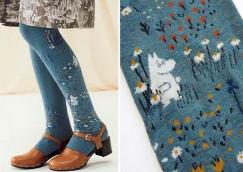 Колготки и носки с Муми троллями