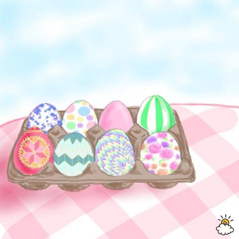 Выбери пасхальное яйцо — и м…