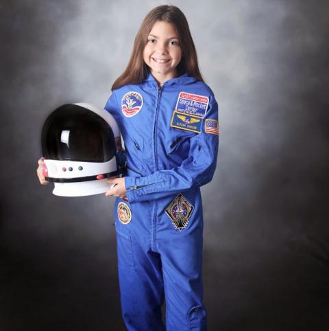 13-летняя американская школьница готовится к полету на Марс