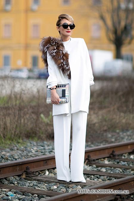 Уличный стиль Милана: модные фасоны пальто