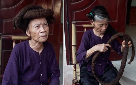 81-летняя «Рапунцель» отраст…