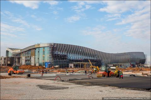 Как строят новый крымский аэропорт. Фоторепортаж