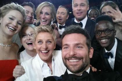 Селфи голливудских звезд сломало Twitter