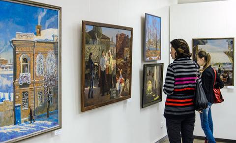 Выставка группы художников «Новый взгляд»