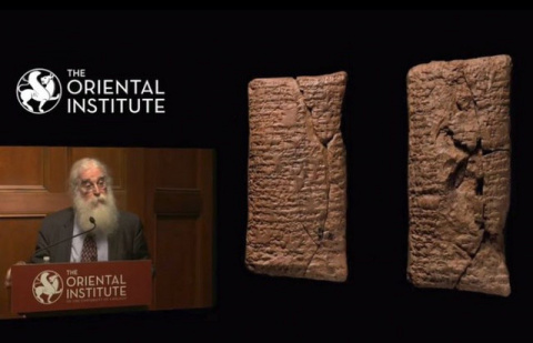 На 4000-летней глиняной табл…