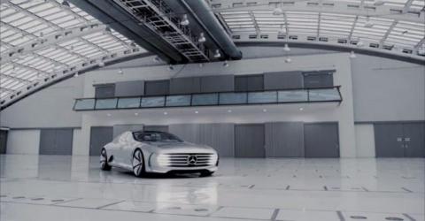 Mercedes представил машину-трансформер