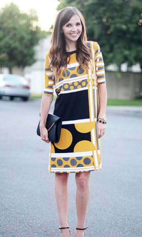 Как быстро сшить прямое летнее платье без выкройки