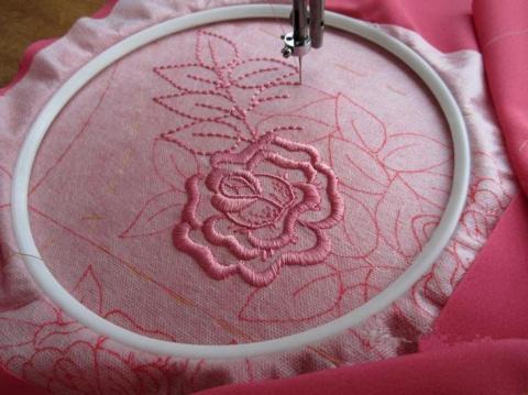 Мастер-класс — осваиваем вышивку на простой швейной машинке