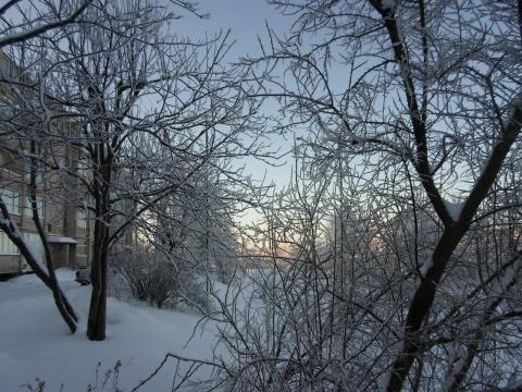 Зима на пороге.