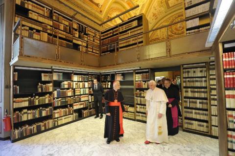 Какие секреты хранятся в Ватиканской библиотеке?