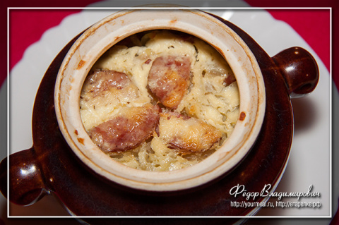 Мядзведзь - блюдо белорусской кухни из картофеля