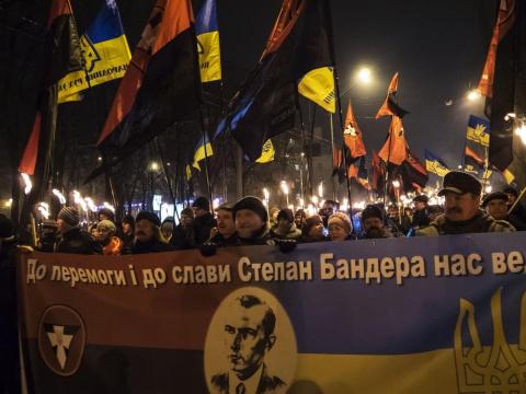 Украинский нацизм на марше
