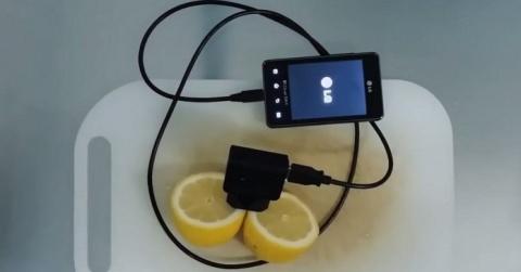 Как зарядить телефон с помощ…