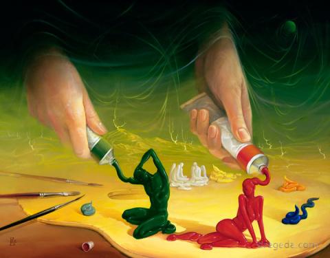 Сюрреалистические фантазии Виктора Брегеда