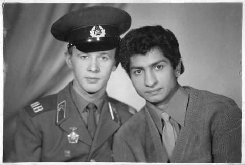 Виктор Косых и Василий Васильев. Дружба длинною в 45 лет. 1966-2011.