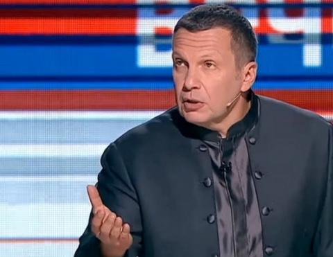 Владимир Соловьев резко отреагировал на слова Собчак о санкциях против России
