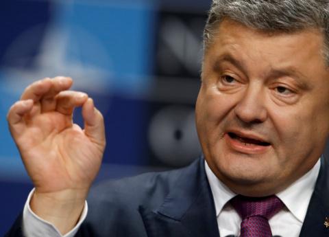 Порошенко: Есть планы подарить Донбасс России