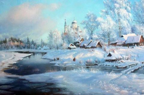 Великолепные картины художника Владимира Жданова