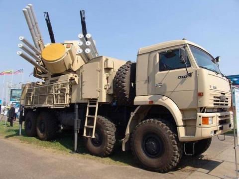Россия передаст сирийской армии партию ЗРПК «Панцирь»